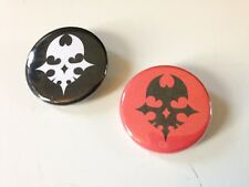 Set of 2 World Ends With You Pins Videogame 1.25 in Pin Button