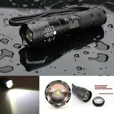 5000LM 5Mode Zoomable CREE XML T6 LED Flashlight 18650/AAA Torch Aluminum Light