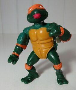 "Mirage Studios Playmates 1989 TMNT Ninja Turtles Michelangelo 4"" Action Figure"
