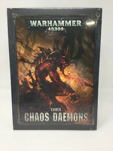 Codex: Chaos Daemons - Warhammer 40k - Brand New! 8th Edition Free Shipping