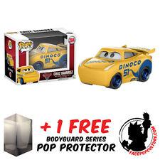 FUNKO POP DISNEY CARS 3 CRUZ RAMIREZ VINYL FIGURE + FREE POP PROTECTOR