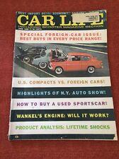 Car Life Magazine June 1960 Cushman Road King Wankel Anglia (5542)