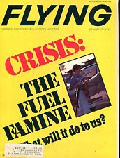 Flying Magazine January 1974 The Fuel Famine EX w/ML 112916jhe