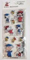 Hallmark Peanuts Snoopy Woodstock Graduation Puffy Stickers 2 Sheets NIP