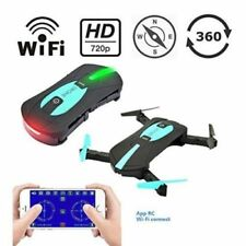 Mini Wifi Rc Drone with 2Mp Hd Camera Altitude Hold Foldable Selfie Pocket Cam