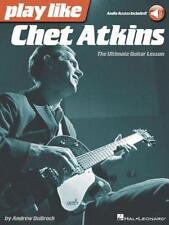 Play comme Chet Atkins: L'Ultime Guitare Lesson par Atkins Livre de Poche Boo