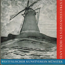 Westfälischer Kunstverein, Expressionismus in Holland, Katalog Ausstellung 1960