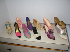 Just The Right Shoe Collection Of 11 Shoes no boxes