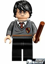 LEGO Harry Potter Minifigure with Wand 2-sided head 71247 Dimensions NEW