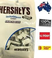 Hershey's Cookies n Cream Snack Size Pack Delicious Chocolate Home FREE POST