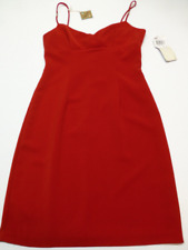 City Triangles Womens Size 9 Red Dress Spaghetti Strap New