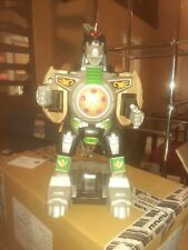 """Imaginext Power Rangers Mighty Morphin Green Ranger Dragonzord RC 15"""" No Remote"""