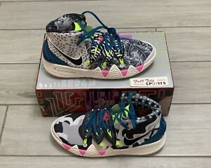 Nike Kybrid S2 GS Kyrie Irving What The Neon 2.0 (CV0097-002) Size 7Y / Wmns 8.5