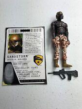 GI Joe Cobra ROC Rise Of Cobra Figure Lot ROSS Exclusive Sandstorm Driver