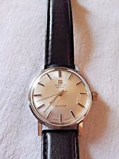 Vintage 1963 Men's Swiss MADE TISSOT SEASTAR 17 jewels Stainless Steel Watch