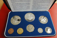*Barbados KMS /Proof Set 1973 mit Silber Münzen *