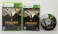 Legends of War Patton  for Xbox360 - Complete  in Very Good Condition Cib