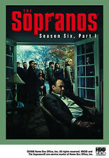 The Sopranos - Season 6, Part 1 (DVD, 4-Disc Set) 2 DAY PRIORITY MAIL USA