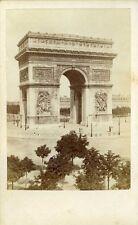 DEBITTE & HERVE Arc de triomphe vintage albumen circa 1860 CDV  photo