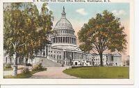 The United States Capitol, Washington DC.Year 1934. Vintage Postcard