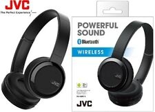 JVC HA-S40BT BLACK Foldable Wireless Bluetooth Bass Boost Headphones /Brand New