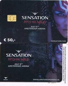 Arenakaart A137-01 50 euro: Sensation 2013 Into the Wild