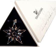 Swarovski 2001 Christmas Star / Snowflake, Mint w box