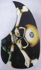 Skull Acoustic Guitar Pickguard Plastic Printed 1pcs Cheap Price Free Ship pg9 #alulu
