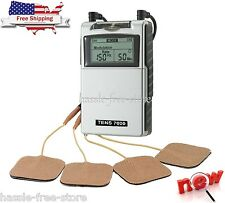 Tens Muscle Stimulator Pain Back Rehabilitation Relief Electric Shock Electrodes