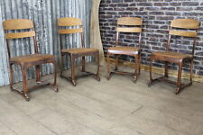 INDUSTRIAL VINTAGE RETRO STYLE ETON CHAIR WITH AGED COPPER FRAME