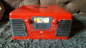 Retro CD, Radio And Record Player
