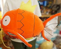 "JUMBO Pokemon Magikarp Plush Doll 19"" 49cm Nintendo Poke Toy by BANPRESTO RARE"