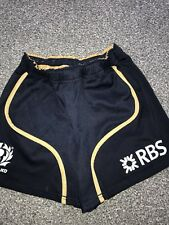 Problema de reproductor de Escocia Rugby Pantalones Cortos 2011/13 tamaño 28 raras