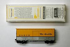 Mtl S Micro-Trains Special Run Drgw 40 foot boxcar