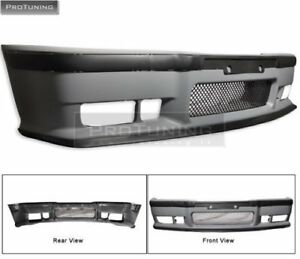 For BMW E36 92-98 OEM FACTORY STYLE M3 FRONT Full BUMPER set W/ GRILLE + LIP