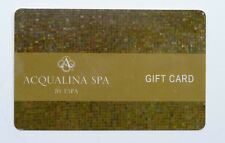 Acqualina By ESPA Spa, Massage & Food Gift Card - Read Description For Balance