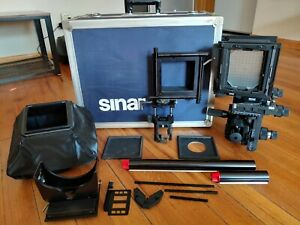 Sinar P2 4x5 Large Format Camera expert kit with flight case