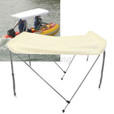For 2 Person Inflatable Kayak Boat Awning Canopy UV Sun Shade Shelter Rain