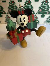 Ready For Christmas Disney Hallmark Keepsake Mickey Mouse  Ornament New In Box
