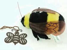 "Stuffed Bee made for Smithsonian'S Backyard - 5"" x 3"" x 2"" & 2 1/2"" x 2"" Metal B"