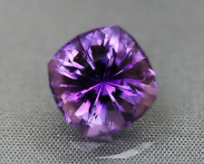 Amethyst. Square Cushion. Dark Brazilian  Material. 11.75mm. 9.90 cts. Gorgeous.