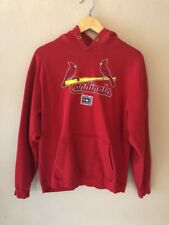 St Louis Cardinals 2006 World Series Red Hooded Sweatshirt- Size L