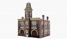 WOODLAND SCENICS BUILT & READY FIREHOUSE N SCALE BUILDING