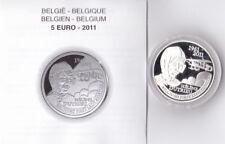 5 euros argent belgique 2011