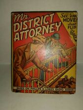 MR. DISTRICT ATTORNEY ON THE JOB-Big/Better Little Book-#1408-1941-1st Print