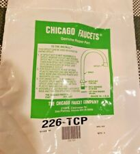 "Chicago Faucets GN2AJKABCP Chrome 5-1/4"" High-Arch Gooseneck Swing Spout"