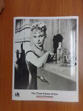 Vtg Glossy Press Photo Movie The Three Faces Of Eve Joanne Woodward David Wayne