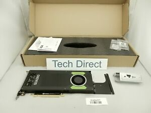 Lenovo ThinkStation Nvidia Quadro P4000 8GB GDDR5 DP 4 Graphics Card w/ Extender