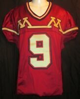 Minnesota Gophers Game Used/Worn Football Jersey RARE Apex M&M Style