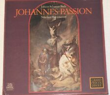 J.S Bach -  Johannes Passion - Nikolaus Harnoncourt -Telefunken 6.35018 EK - NEW